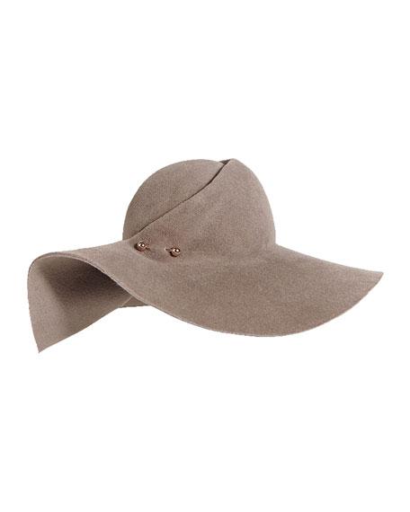 Catherine Floppy Felt Hat
