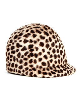Eugenia Kim Blair Animal-Print Hat