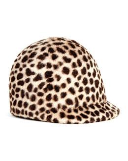 Eugenia Kim Blair Animal-Print Hat