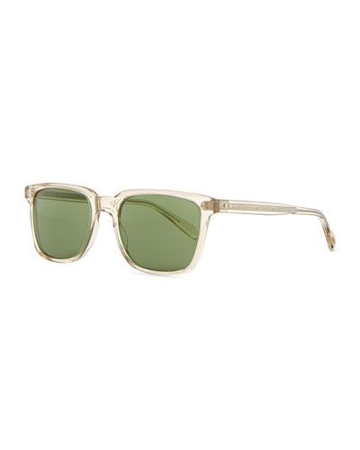 Oliver Peoples NDG Sun Sunglasses, Clear Yellow