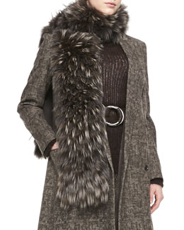 Michael Kors  Fox-Fur Scarf