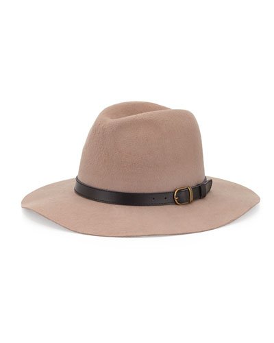 Michael Stars Oh My Darling Wide Brim Hat, Dune