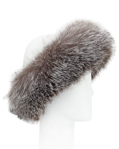 Sofia Cashmere Fox Fur Headband