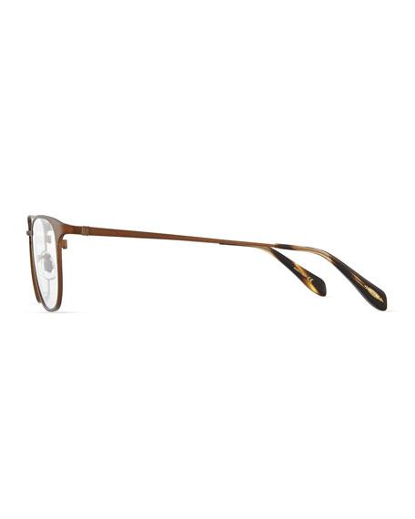 Pressman Round Fashion Glasses, Bronze