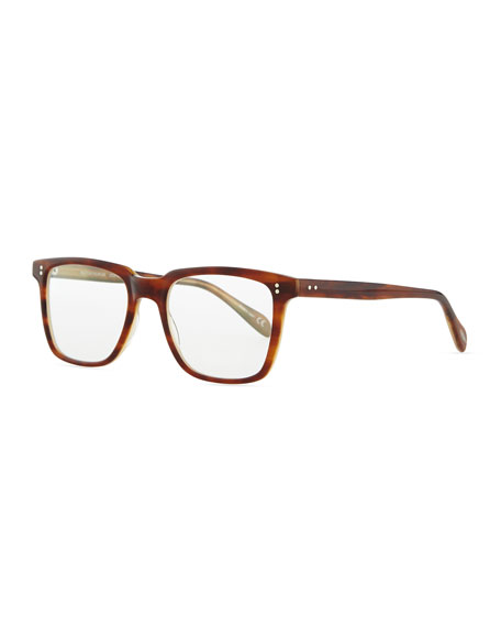 Oliver Peoples NDG Square Fashion Glasses, Brown