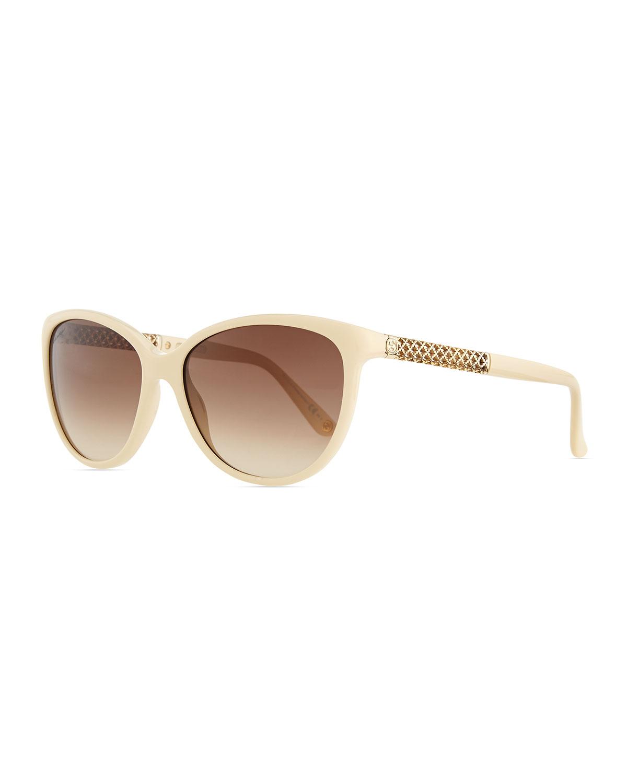 582284382b2 Gucci Sunsights Modified Cat-Eye Sunglasses
