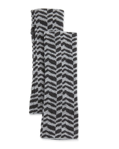Eileen Fisher Herringbone Cashmere Glovettes