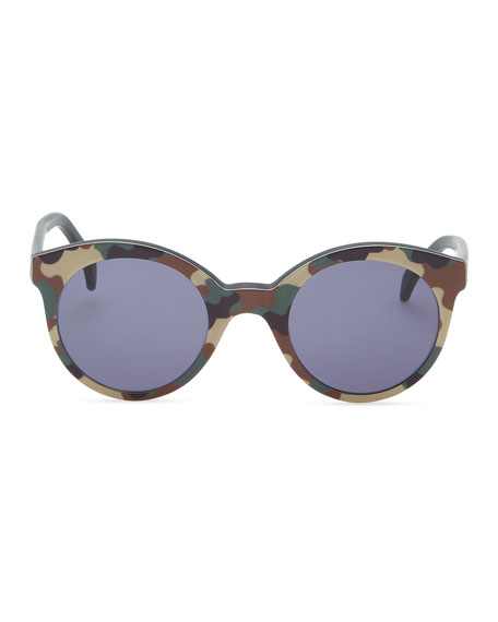 Whitechapel Camo Sunglasses, Green