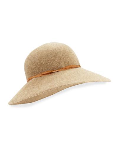 Eric Javits Moxi Dramatic-Brim Hat