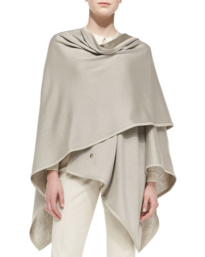 Madison Summer Jersey Wrap, Tan