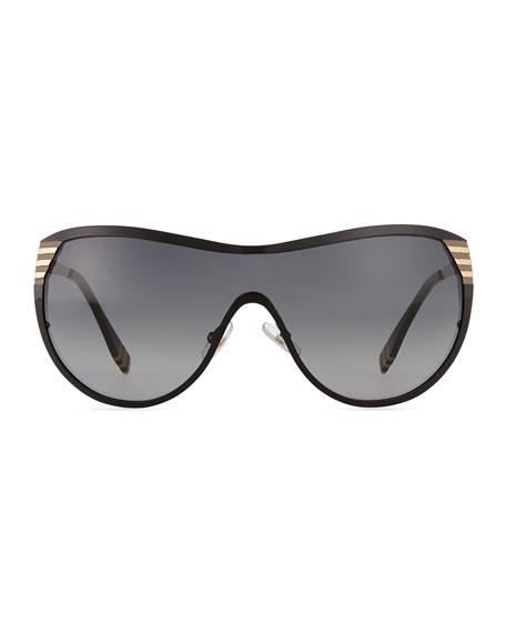 da8851f2e63e Fendi Pequin Shield Sunglasses