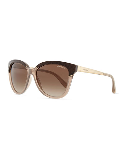 Ines Frame-Wrapped Sunglasses