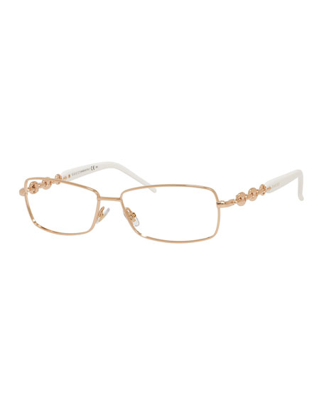 9e038d4347ac7 Gucci Chain-Detail Fashion Glasses