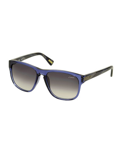 Square Sunglasses, Blue