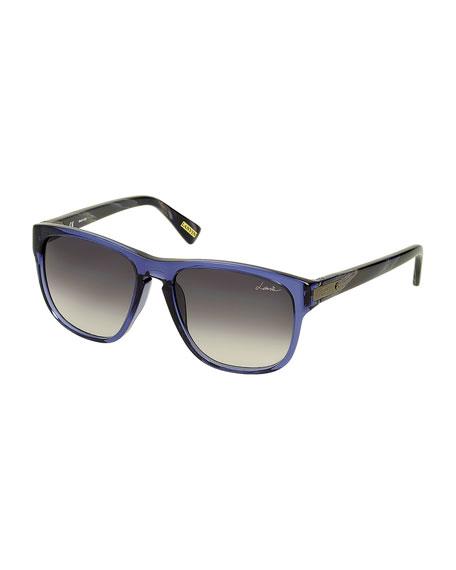 Square Sunglasses, Blue