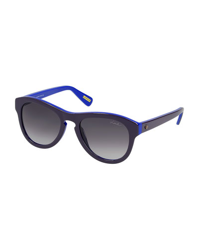 Butterfly Sunglasses, Violet