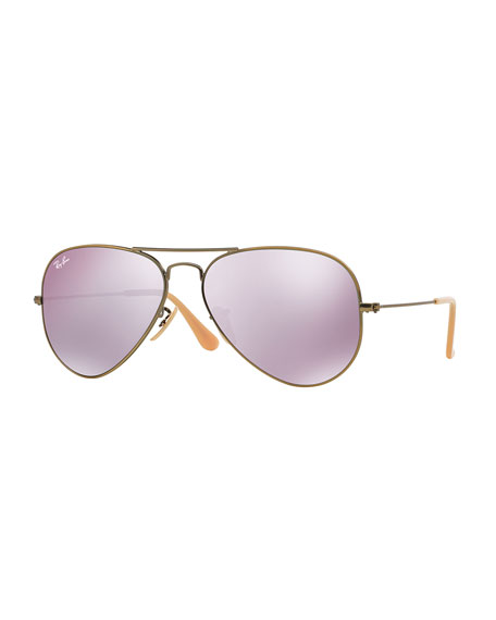 Ray Ban Mirrored Aviator Sunglasses  ray ban mirrored aviator sunglasses lilac