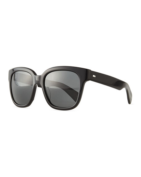 Oliver Peoples Brinley Square Sunglasses, Black