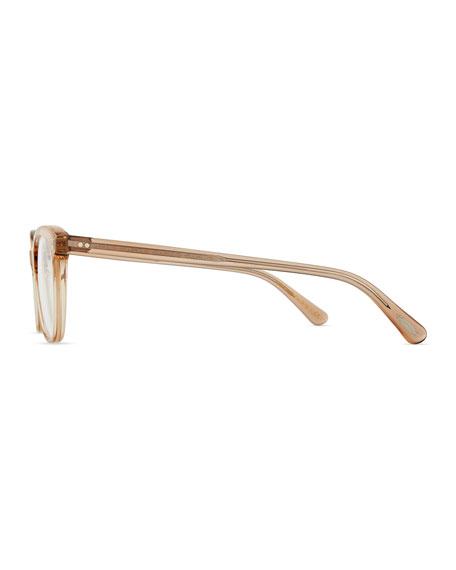 Jardinette Acetate Fashion Glasses, Blush