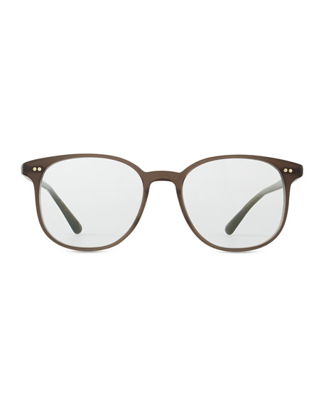 Scheyer Oval Fashion Glasses, Taupe