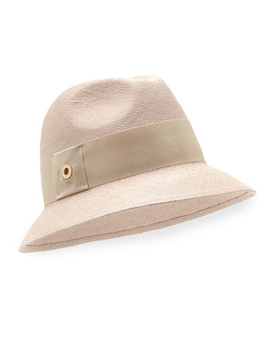 Ingrid Panama Hat, Tan