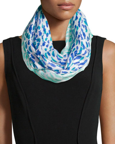 school of fish infinity scarf