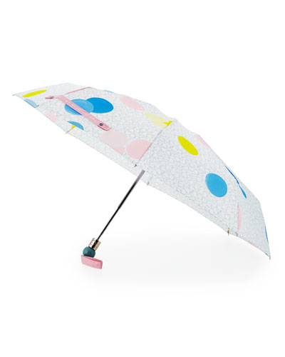 Floating-Spot Umbrella, Cloud Blue