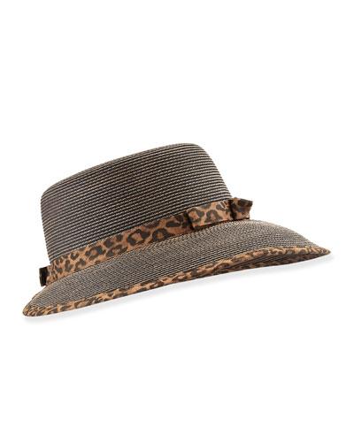 Squishee Sun Cap, Leopard