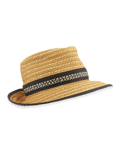 Big Deal Hat, Natural/Black