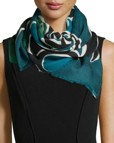 Insects of Britain Scarf, Blue