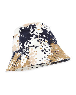 Clara Camo Bucket Hat