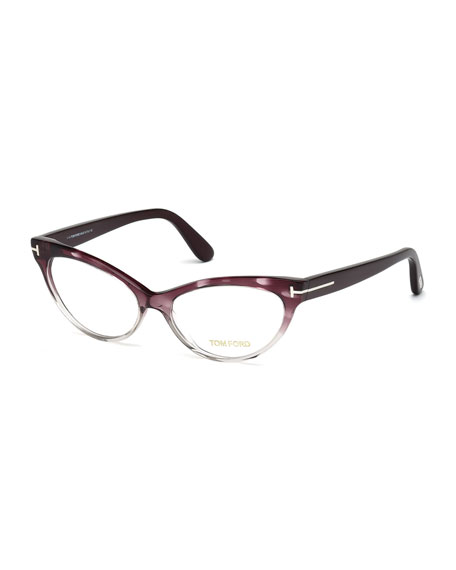 tom ford cat eye fashion glasses purple gray. Cars Review. Best American Auto & Cars Review