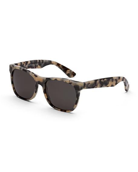 Classic Puma Tortoise Sunglasses, Brown/Cream