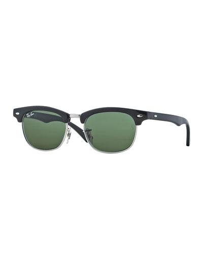 Children's Clubmaster® Sunglasses, Black