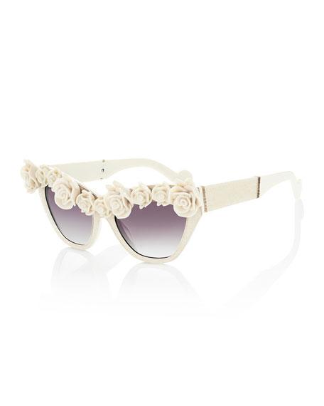 Anna-Karin Karlsson Cause I Flippin Can Rosette Sunglasses,