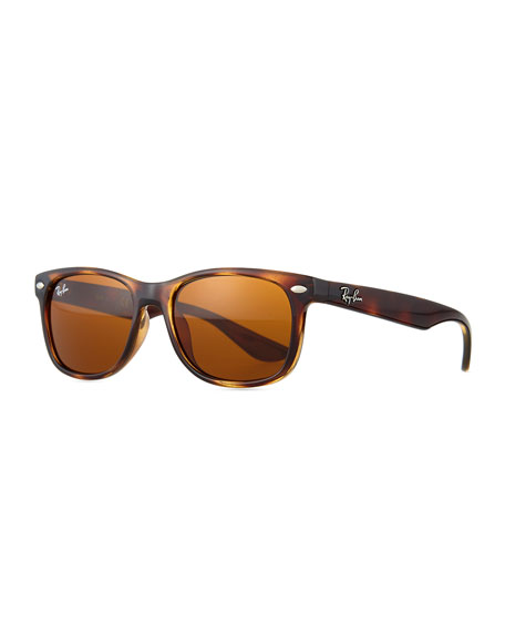 Ray-Ban Junior Children's Havana Wayfarer Sunglasses