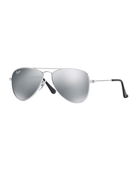Ray-Ban Junior Children's Metal Aviator Sunglasses