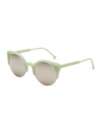 Lucia Sunglasses, Ciao (Green)