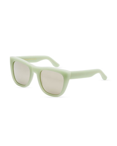 Gals Square Sunglasses, Ciao  (Green)