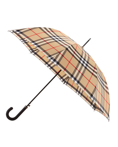 Regent Walking Umbrella, Camel Check