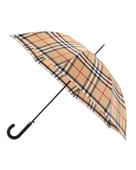 Regent Walking Umbrella, Camel Check