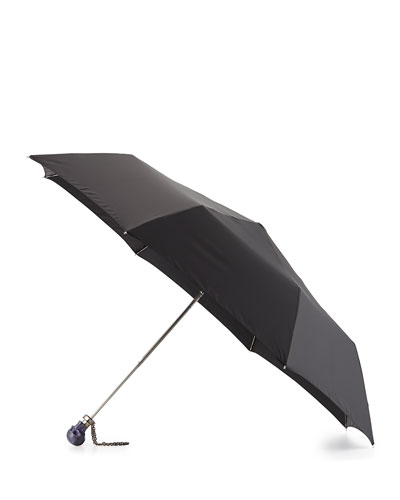 Rosin Skull Umbrella, Black/Purple