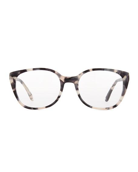 Tokyo Acetate Fashion Glasses, Black Tortoise