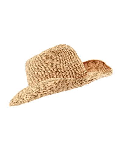 Belen Raffia Western Hat