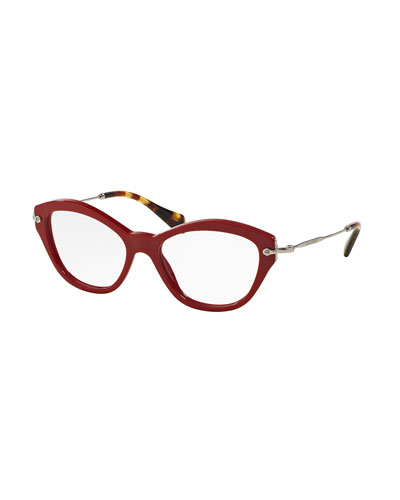 Acetate Cat-Eye Fashion Glasses