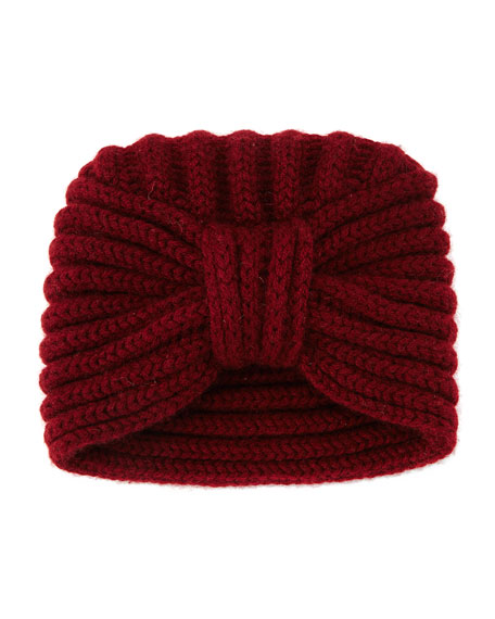 KNIT COLD WEATHER TURBAN HAT