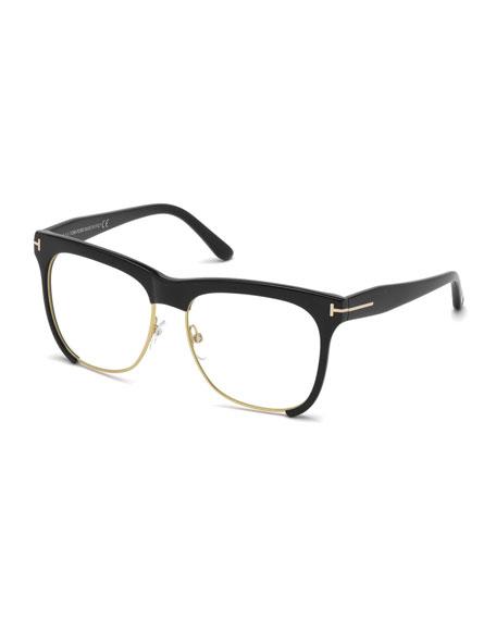 dual rimmed fashion glasses