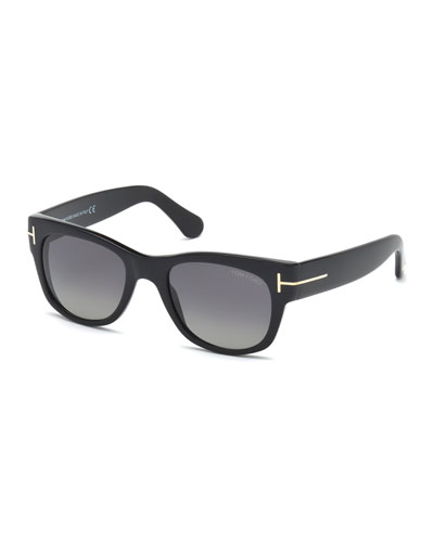 Cary Polarized Sunglasses, Black