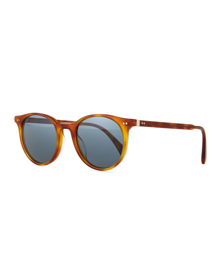 Oliver Peoples Delray Sun 48 Photochromic Sunglasses, Blonde