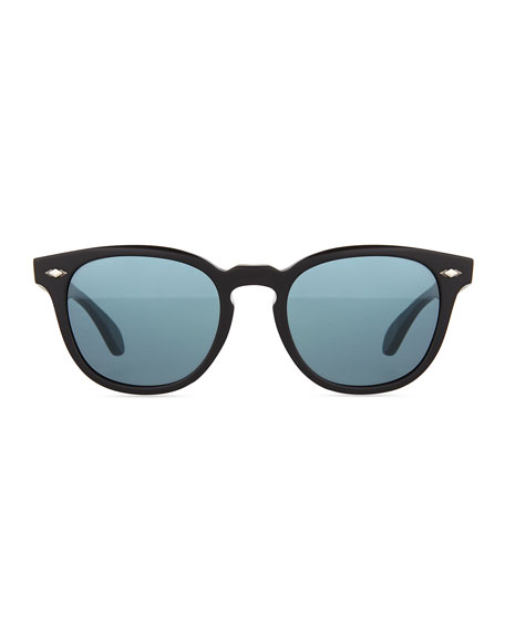 Sheldrake Plus 52 Photochromic Sunglasses, Black Matte